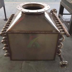 工业窑炉熔炉余热回收换热器  余热回收设备 合肥宽信
