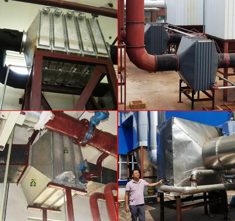 锅炉节能器,锅炉烟气余热回收,翅片管换热器厂家