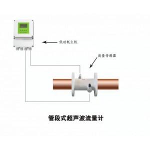 大连海峰低功耗TDS-100系列电池供电超声波流量计