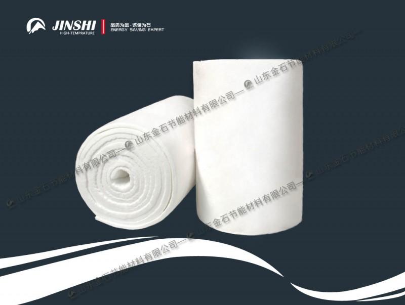 淄博窑炉耐材硅酸铝针刺毯厂家-- 山东金石耐火材料有限公司