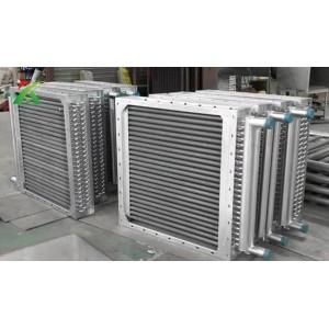 翅片管换热器,翅片管散热器间距片距,翅片管散热器定制