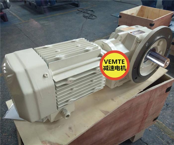 KF47AM100M4伞齿轮减速机,8级电机带减速机-- 东莞恩茁智能科技有限公司
