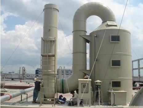 喷淋塔丨环保设备生产厂丨环保达标-- 东莞市健强环保机械设备有限公司