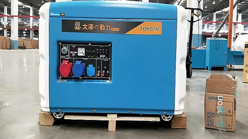 8千瓦柴油发电机带水泵-- 上海欧鲍设备有限公司
