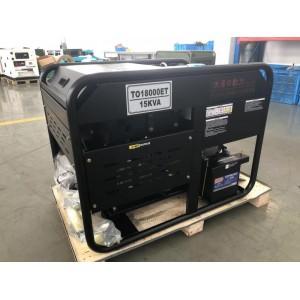 无刷12千瓦柴油发电机型号TO16000ET