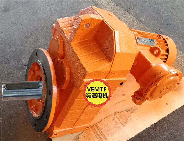 FF157DH180M4平行轴齿轮箱,4KW防爆电机扭矩-- 东莞市西米特机电设备有限公司