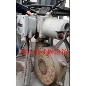 QDX3-5阀门二级蜗轮箱,阀门蜗轮头,多回转蜗轮减速器