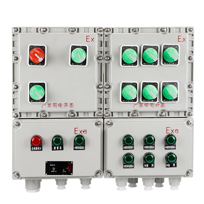 供应浙江金顿BXK系列防爆控制箱质好价优物美-- 浙江金顿电气科技有限公司