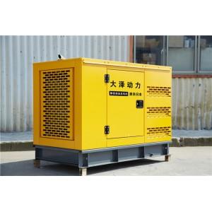 工地施工静音75kw柴油 发电机组