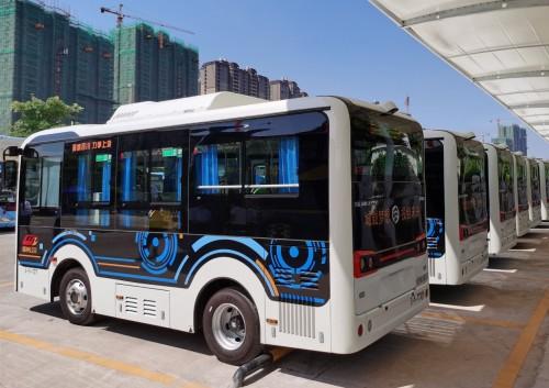 开创城市公交新局面 60台金旅星途加入梧州新能源公交大家庭