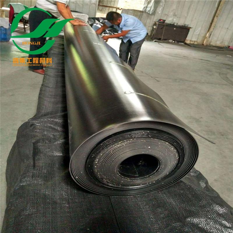 佛山1.5毫米厚养殖防渗土工膜供货及时-- 惠州市鸿集工程材料有限公司
