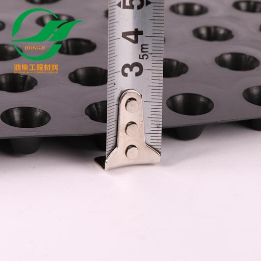 清远1.2mm塑料防护排水板物流配送-- 惠州市鸿集工程材料有限公司