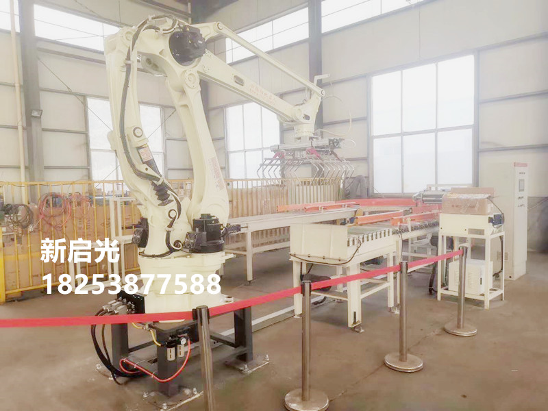自动码垛机器人的优势-- 山东新启光智能装备有限公司